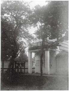 Gartenansicht, Landhaus Heinrich Böhler, Baden bei Wien, Pelzgasse 11 von Anonym