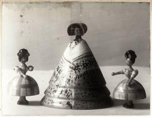 Drei Spielfiguren von Harlfinger-Zakucka, Franziska