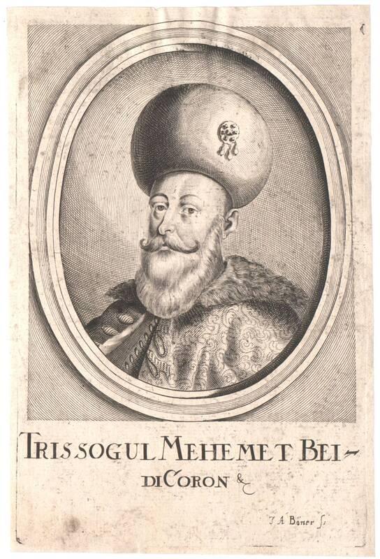 Portrait von Trissogul Mehemet von Boener, Johann Alexander