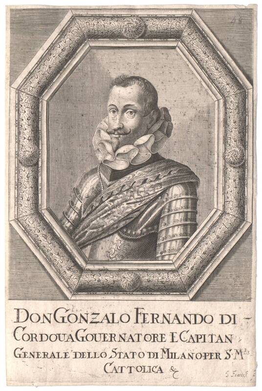 Portrait von Don Gonzales Fernando di Cordova von Franck, Johann