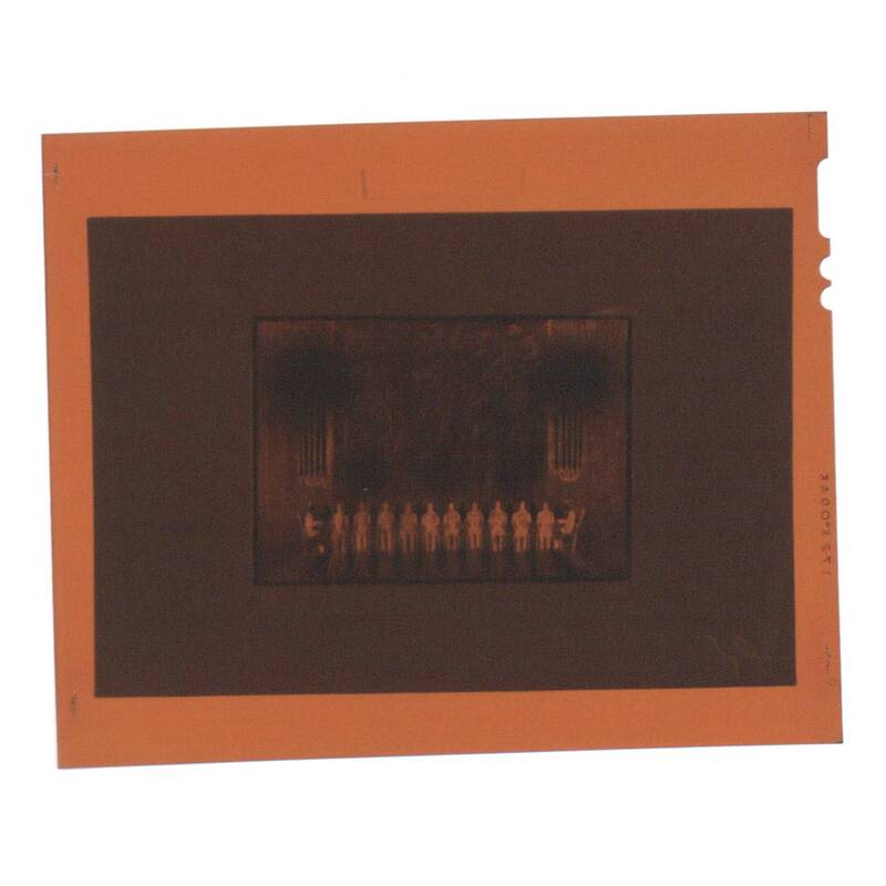 Fotonegativ eines Bühnenentwurfs von Deutsch-Dryden, Ernst