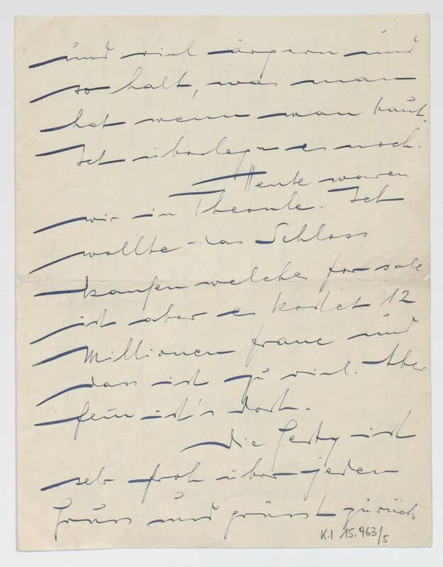 Brief von Ernst Deutsch-Dryden, englische Übersetzung von Anonym