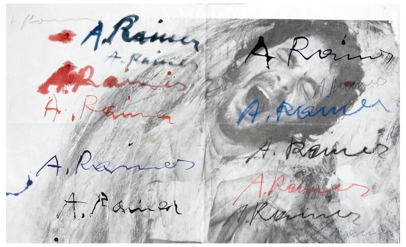 Signaturzeichnung von Rainer, Arnulf
