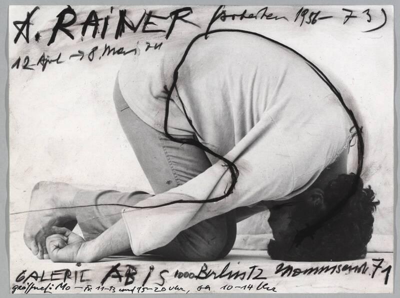 Arbeiten 1956 - 1974 von Rainer, Arnulf