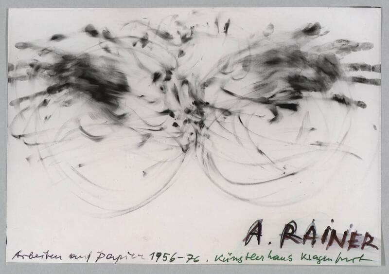 Arbeiten auf Papier 1956 - 1976 von Rainer, Arnulf