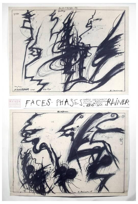 Face Farces oder Phases in Arbeit von Rainer, Arnulf