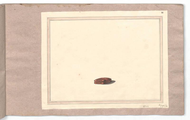 Entwurf für Fußschemel N° 6 von Danhauser, Joseph Ulrich