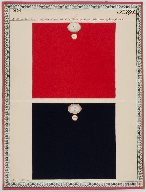 Militär-Tücher von Skene, Wilhelm